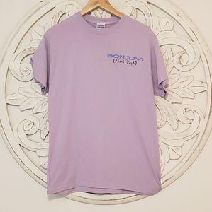 Junk Food Bon Jovi European Tour 1995 T Shirt